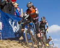2014 de Ingezetenen van USAC Cyclocross Stock Fotografie