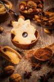 De ingrediënten en de kruiden van het baksel Royalty-vrije Stock Fotografie