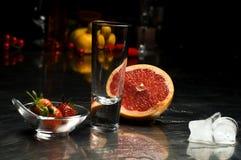 De Ingrediënten van de cocktail royalty-vrije stock afbeelding