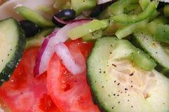 De ingrediënten van de sandwich Stock Afbeeldingen