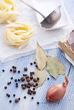De ingrediënten van de soep Stock Afbeeldingen