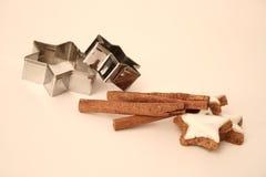 De ingrediënten van het baksel Royalty-vrije Stock Afbeeldingen