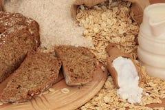 De Ingrediënten van het Brood van de soda royalty-vrije stock fotografie
