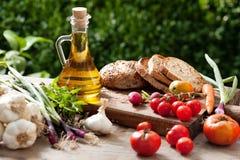 De ingrediënten van het voedsel Stock Foto's
