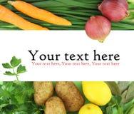 De ingrediënten van het voedsel Stock Foto