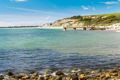 De Inham Dorset Engeland van Bowleaze royalty-vrije stock fotografie