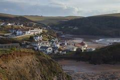 De inham van de hoop, Devon, Engeland stock foto's