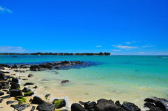 De Inham van de kustlijn Stock Fotografie