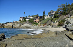 De Inham van de Straat van het mos, Laguna Beach, Californië royalty-vrije stock afbeeldingen
