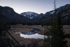 De Inham van het oosten - Rocky Mountain National Park Royalty-vrije Stock Fotografie