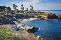 De Inham van La Jolla, Californië Stock Afbeeldingen