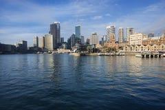 De Inham van Sydney, Australië. Stock Afbeelding