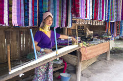 De Inheemse dame van Kayanlawhi Thailand Royalty-vrije Stock Foto's