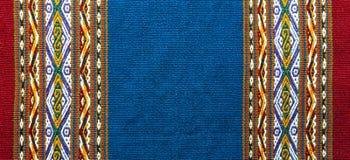De inheemse Textiel van de Andes in Cusco, Peru stock foto