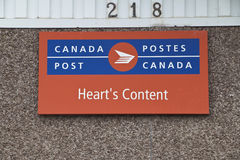 De Inhoudspostkantoor van het hart, Avalon Peninsula Royalty-vrije Stock Fotografie