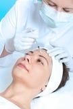 De injectie van Botox Royalty-vrije Stock Foto's