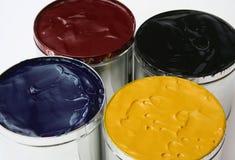 De Inkt van Printers CMYK Royalty-vrije Stock Foto