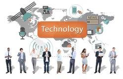 De Innovatieconcept van de technologie Digitaal Evolutie royalty-vrije stock afbeeldingen