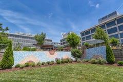 De Innovatiekwart winston-Salem van Bailey Park en WF- Royalty-vrije Stock Foto's