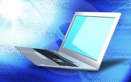 de innovatieve technologieën van computerinternet voor zaken Stock Foto's