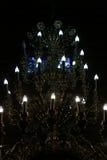 De inrichtings verlichtende duisternis van de kristalverlichting Stock Foto