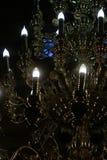 De inrichtings verlichtende duisternis van de kristalverlichting Royalty-vrije Stock Afbeeldingen