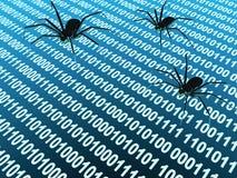 De insecten van Internet stock illustratie