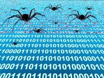 De insecten van Internet vector illustratie