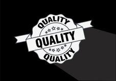 De insignes vectorontwerp van de kwaliteitszegel Stock Afbeeldingen