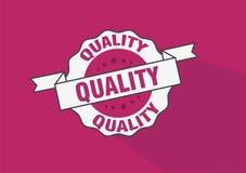 De insignes vectorontwerp van de kwaliteitszegel Royalty-vrije Stock Afbeelding