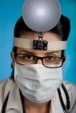 De Inspectie van de gezondheid Royalty-vrije Stock Afbeeldingen
