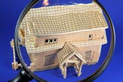 De Inspectie van het huis Stock Afbeeldingen
