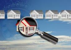 De Inspectie van het huis. Stock Afbeelding