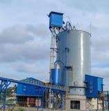 De installatie van de cementverpakking Stock Afbeelding