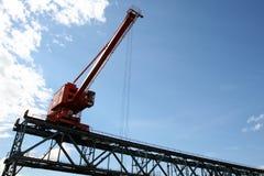 De installatie van de haven stock foto