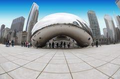 De Installatie van de Kunst van de Boon van Chicago Royalty-vrije Stock Afbeeldingen