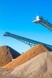De Installatie van de mijnbouw Stock Afbeeldingen