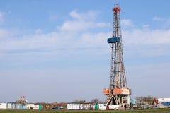 De installatie van de olieboring Stock Foto's