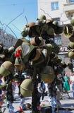 De installatie van de overwinningsdag Stock Fotografie