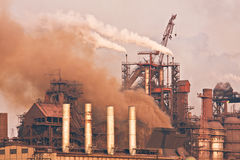De installatie van de zware industrie Stock Foto