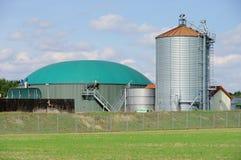 De installatie van het biogas Royalty-vrije Stock Afbeelding