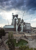 De installatie van het cement Stock Foto's