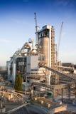De installatie van het cement Stock Foto