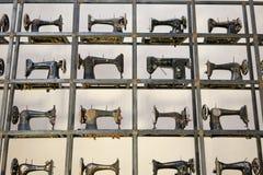 De installatie van de naaimachinekunst Royalty-vrije Stock Afbeelding