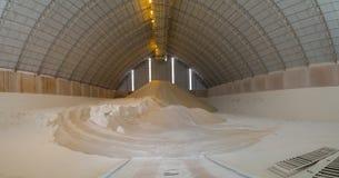De installatie van de suiker storange fabriek stock foto's