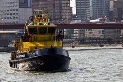 De Instantie van de Haven van Rotterdam Stock Afbeeldingen
