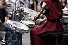 De instrumenten van de muziek Royalty-vrije Illustratie