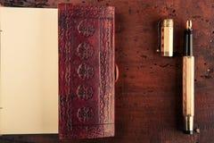 De instrumenten van de schrijver Stock Fotografie