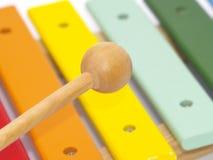 De instrumenten van het kind Stock Fotografie