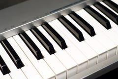 De instrumenten van het muziektoetsenbord Stock Foto's